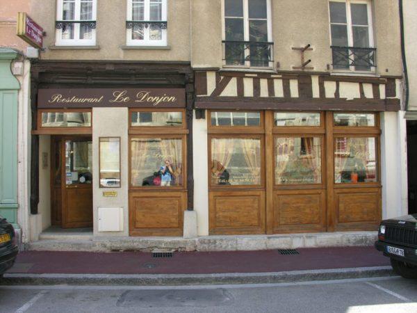 Restaurant Le Donjon à Houdan