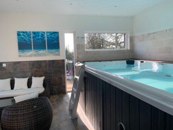 Chambres d'hôtes avec cuisine et spa à Flexanville Thoiry